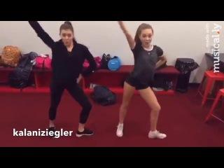 Maddie Ziegler and Kalani Hilliker Little Einstein Dance