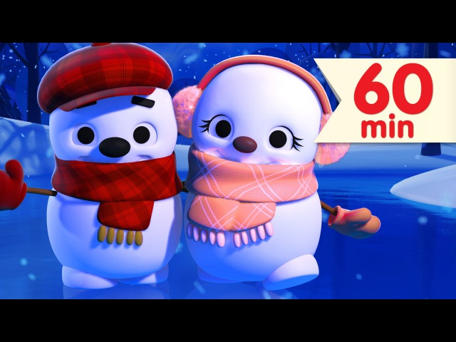 Little Snowflake More | Nursery Rhymes Kids Songs | Super Simple Songs