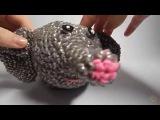 Урок 20. 3Д Слон из резиночек. Плетение слона. Часть 4 (Лапки).