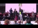 Тамара Гвердцители, Аскар Абдразаков, Валерий Халилов - репетиция (Дачный фестиваль в Плёсе).