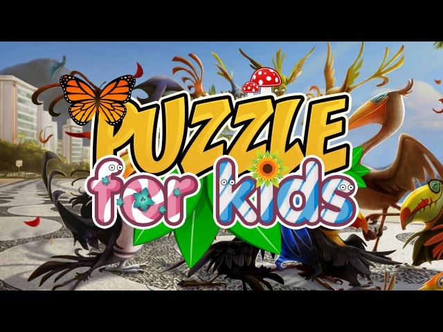 Education for Kids: Animated Movie Rio 2 Cartoon Puzzle Game