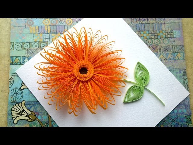 Quilling Flowers Tutorial Quilling flowers wiht a comb tutorial Quilling art