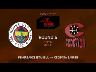 Highlights: Fenerbahce Istanbul-Cedevita Zagreb