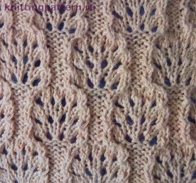 Вязание спицами для начинающих Кедровые шишки… (2 фото) - картинка