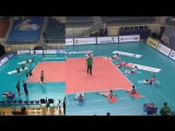 Разминка Вк Заречье Одинцово vs Вк Уралочка перед матчем