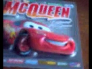 Magnet cars Lightning Mqueen
