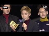151202 EXO выиграли вторую награду