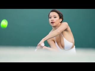 Американская модель элизабет энн пелайо. теннисистка с большой грудью.  азербайджан , azerbaijan , azerbaycan , баку, baku , bak