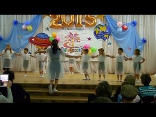 Варвара с группой - танец