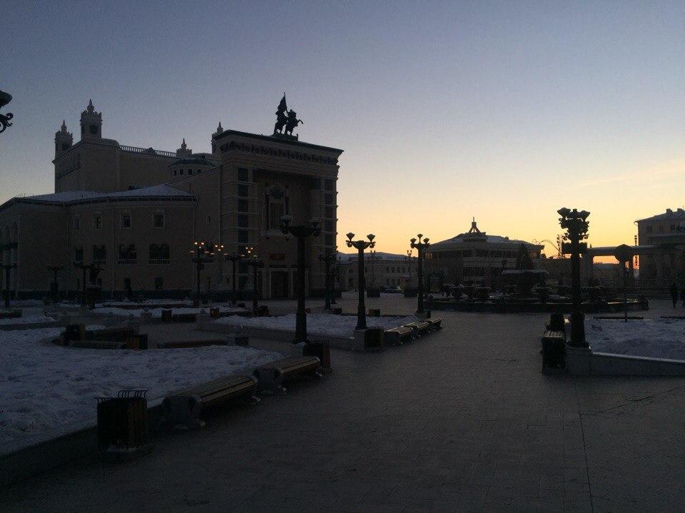 Столица Республики Бурятия-город Улан-Удэ