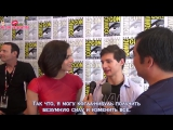 Interview with Lana Parrilla and Jared Gilmore for Once Upon A Time [RUS SUB]