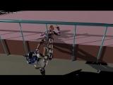 [blender] BMI 1242 3D girl Saki ryona2