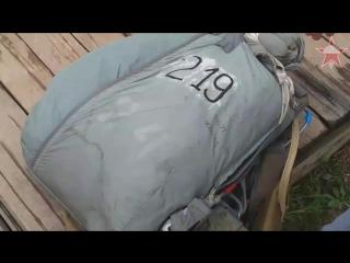 Установки страхующих приборов ППК-У на основном и запасном парашютах