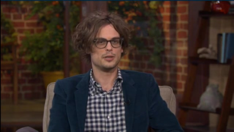 [ENG] Matthew Gray Gubler re-imagines Mark Twain in 'Band Of Robbers', this morning at Good Day LA on Fox