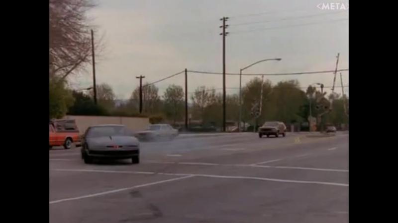 Момент из Рыцаря дорог (1982) сезон 1 серия 21