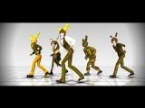 (MMD FNAF) Springtrap Dance
