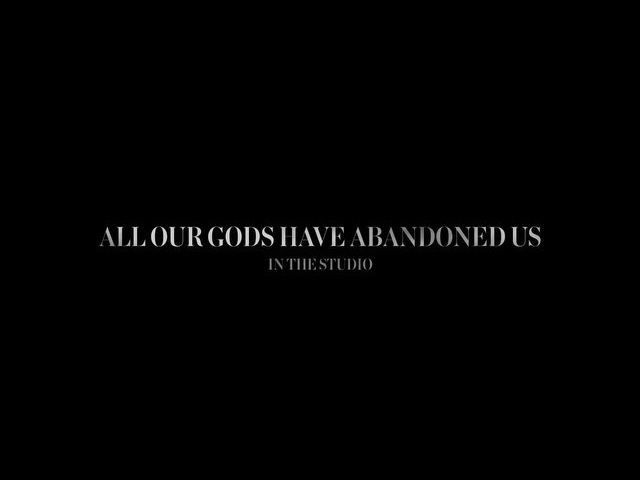 """@architects on Instagram: """"Tomorrow 9AM GMT. 'All Our Gods Have Abandoned Us' - In The Studio Part 1. Directed by @getdeluxe"""""""