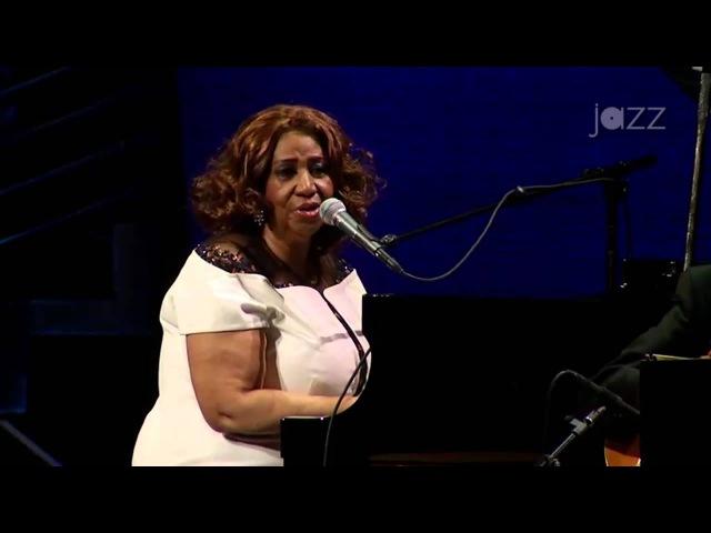 With Aretha Franklin Wynton Marsalis Jazz at Lincoln Center Orchestra 'Big Band Holidays' 2015