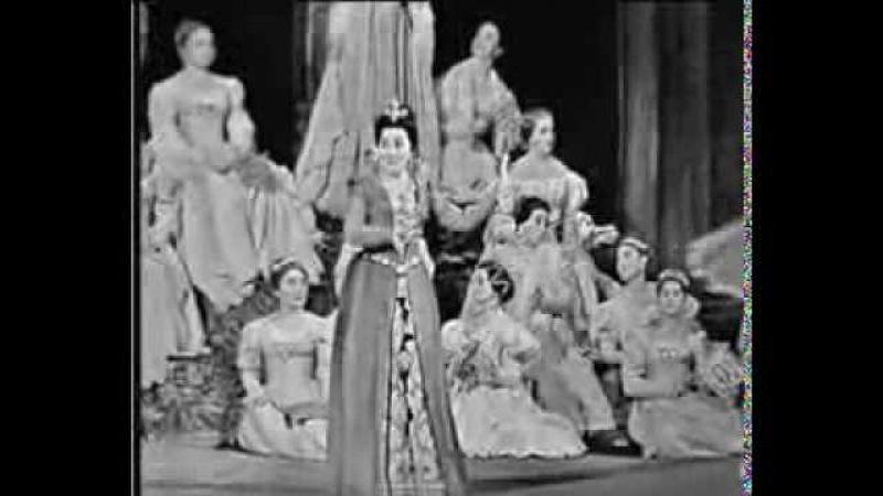 Ирина Архипова - Песня Эболи (G.Verdi Don Carlo) 1964