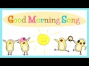 Good Morning Song for Kids (with lyrics) | The Singing Walrus