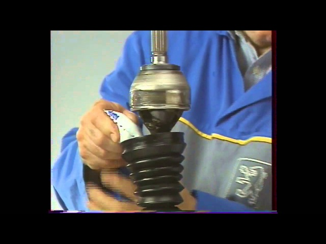 La rénovation des transmissions (PSA Peugeot Talbot Citroën Matra, etc) Changement soufflet cardan