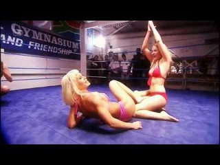Bikini Wrestling girlfriend