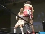 female wrestling - Женский японский рестлинг!