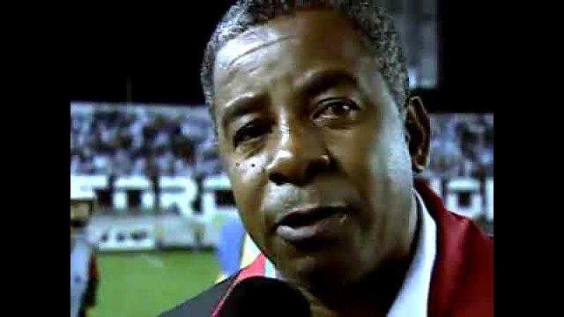 Emocionado, Andrade dedica vitória do Flamengo para o ex goleiro Zé Carlos