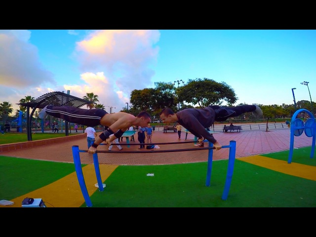 Street Workout with Friends - Shaked Hulio