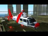 Вертолет летает над городом. Мультик про вертолет для мальчиков