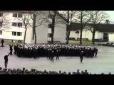 Устрашающий танец норвежских военных  Intimidating dance soldiers