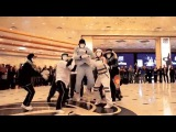 Jabbawockeez Uptown Funk Flashmob at MGM Grand Hotel &amp Casino