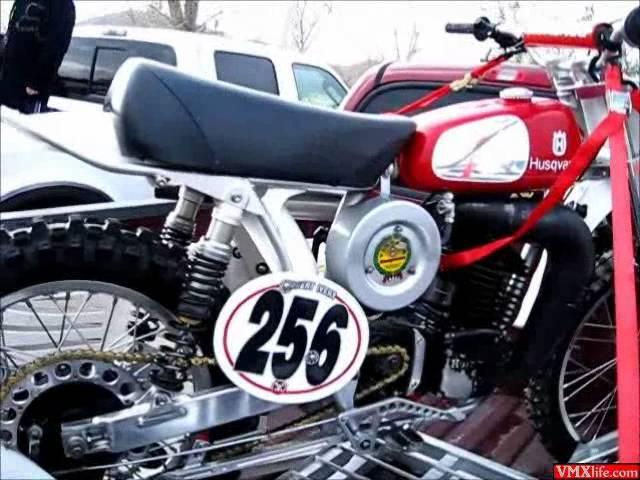 SATURDAY NIGHT FERVOR - VMX Vintage Motocross Race on 1971 Suzuki TM400 - Feb 19 2012 CALVMX SoCal