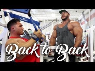 Jeremy Buendia and Phil Heath train Back