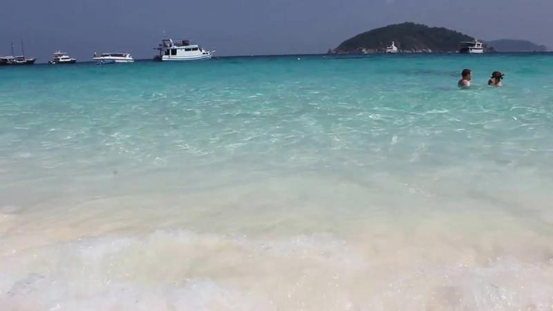 Симиланские острова пляж Koh Miang остров №4
