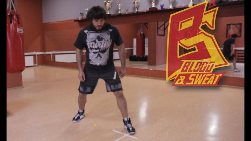 Тренировка скорости, выносливости и координации ног. Футворк и техника бокса.
