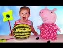 ✿ СВИНКА ПЕППА Магия для Детей Волшебство от Диана Шоу Peppa Pig Fun for the kids unboxing new toys