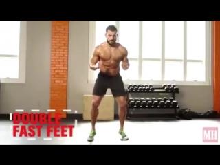 70 кардио упражнений с собственным весом