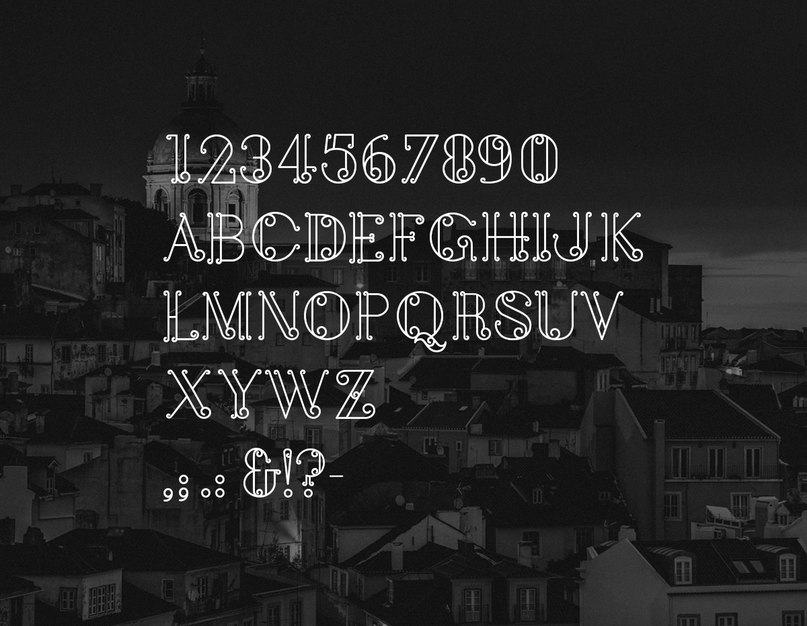 Download balcon a lisbonne font (typeface)