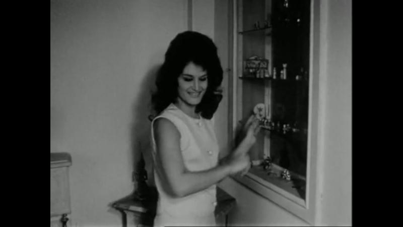 Dalida - Au dela de l'ecran - interview et repetition d'Aimez-vous Brahms / 30-04-1961