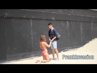 Kissing Prank Compilation   HOT BIKINI GIRLS EDITION   PrankInvasion Kissing Pranks 2015