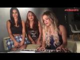 Красивые девушки классно поют Sonhar (cover Mc Gui),кавер,шикарный голос,вокал,талант,круто спели,волшебно