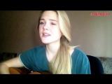 Красивая девушка классно поет песню 'Ноченька' (Тина Кароль 'Tina Karol' cover),шикарно спела кавер,классный голос