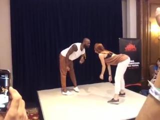 Istanbul Dance Festival 2015 - Semba Tony Pirata Sophie Fox