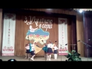 Наши маленькие школьники на конкурсе Барвограй в раене , заняли 1 место просто умнички . Руководители Я и Щербакова Валентина