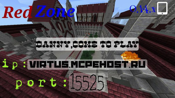 RedZone | [MinecraftPe] OFFICAL