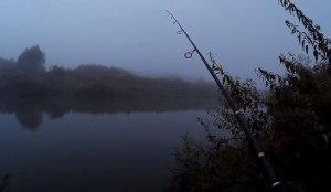 рыбалка поздним вечером