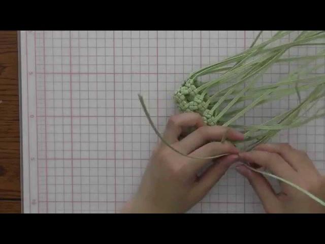 レーシーバッグの作り方【エムズファクトリー公式】 クラフトバンド6528