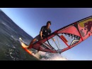 Windsurfing at the step