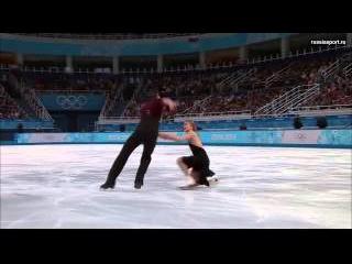 Кэйтлин Уивер, Эндрю Поже. Олимпиада 2014, произвольный танец
